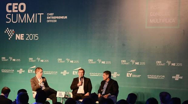 Igor Piquet, da Endeavor, ressaltou na abertura do evento a importância que conexões criam na vida dos empreendedores (Foto: Divulgação/Endeavor)